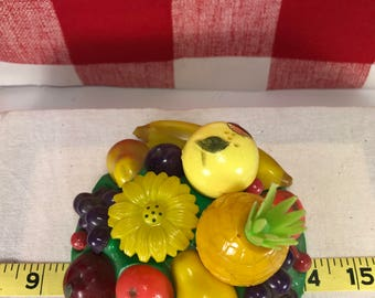 1958 Starke Vintage Fruit Bowl Salt and Pepper Set