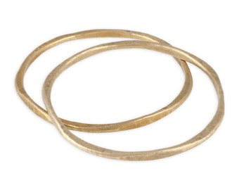 Bronze Stacking Bangle Bracelet - Spirit Bangle - Large, Medium and Small