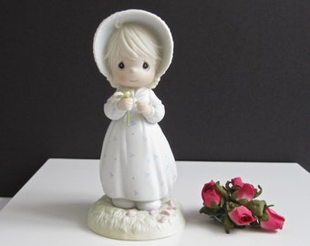 Precious Moments He Loves Me Figurine • 1990 Collectible #524263 • Vintage Enesco