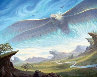 Aetherstorm Roc Print of Magic Illustration by Scott Murphy