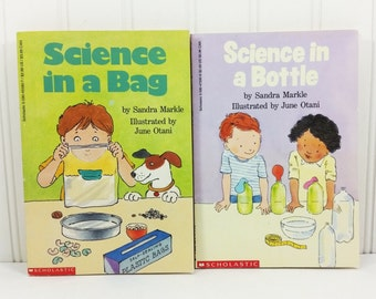 Scholastic Science Series - Science in a Bag - Science in a Bottle, 1990s First Printings