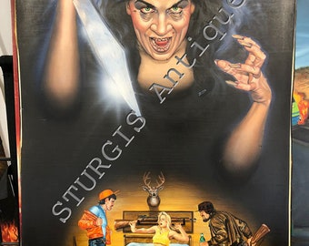 Original Painting by Zimic for Troma Pictures Deadly Daphne's Revenge 1987 Painitng for Poster