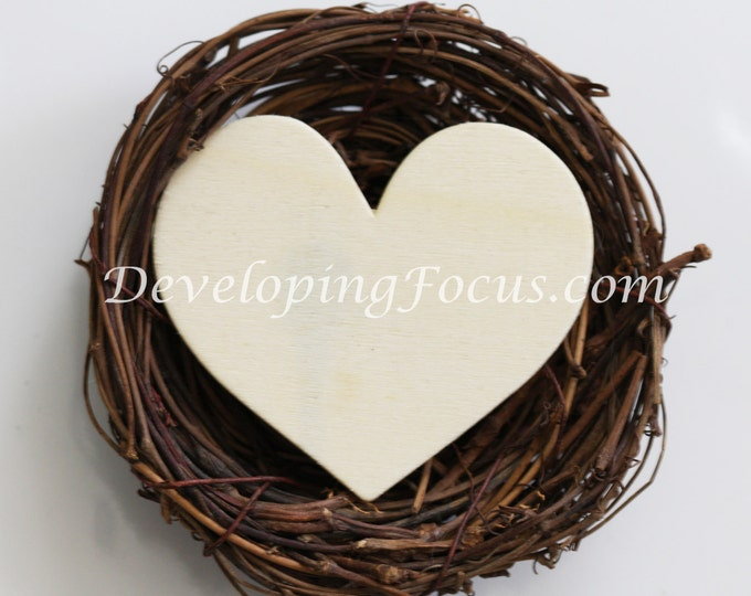 Customizable Love Nest Instant Download Photograhy Card or Print, Custom Bird Nest Announcement for Couples, Personalized Bird Nest for Baby