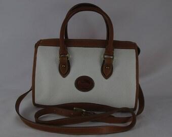 Dooney & Bourke Vintage All Weather Leather Satchel R21 Bone Pre-Owned