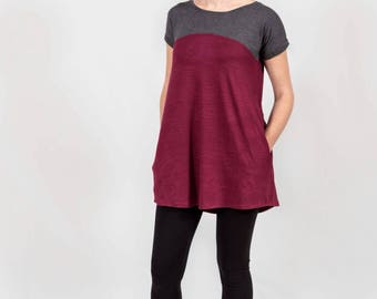 Tunics for women - Tunic tops - Womens tunic tops - Womens Tunics - Tunic dress - Tunic with pockets - Tunic dress women - Tunic tops
