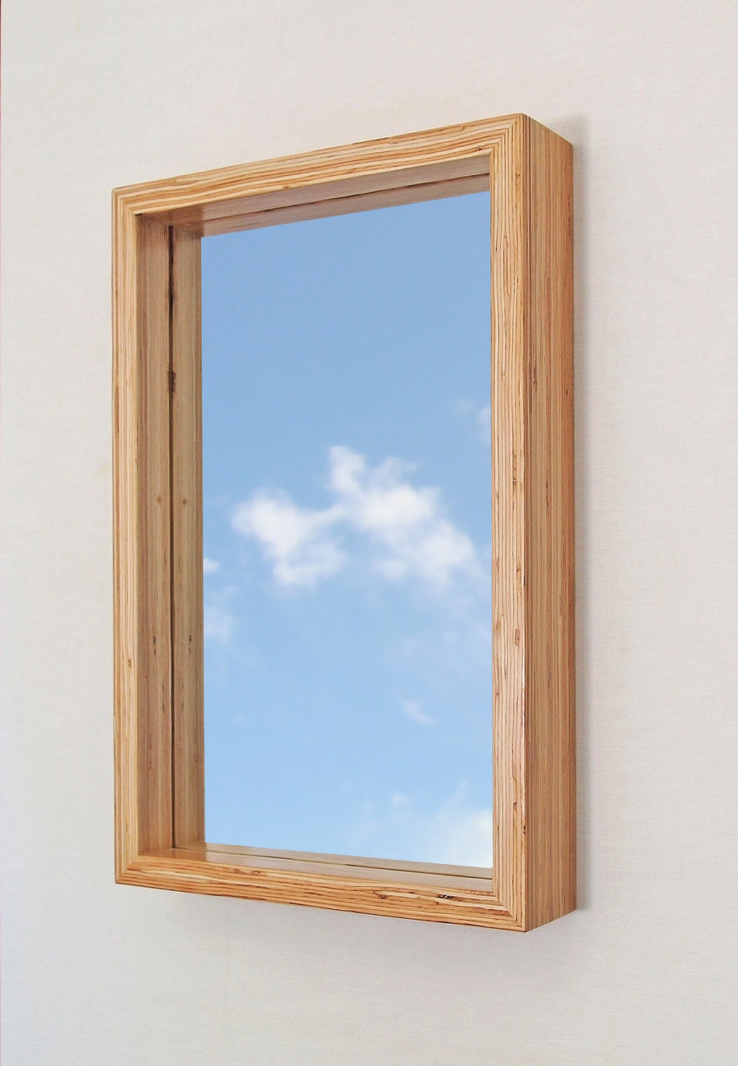 Framed Modern Mirror