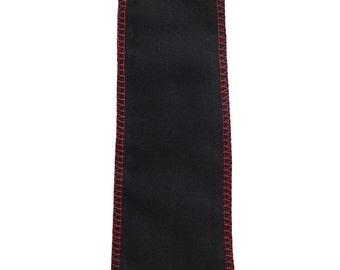 Contrast Stitch Industrial Gothic Tie