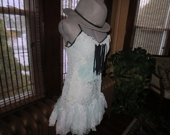 Frilly Little Lace Rag Dress Sale 1/2 off