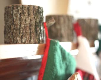 Stocking Holder, (one) Stocking Hanger, Christmas Stocking Holder, Christmas Decorations, Holiday Decor, Christmas Stocking, Home and Living