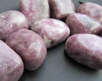 Lepidolite Medium Tumbled Stone