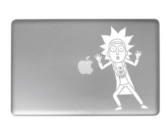 Tiny Rick Laptop Decal