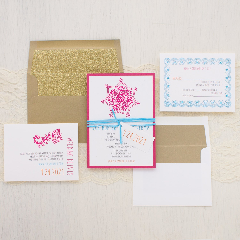 Aqua luna hong kong wedding invitations – Ali wolf style wedding