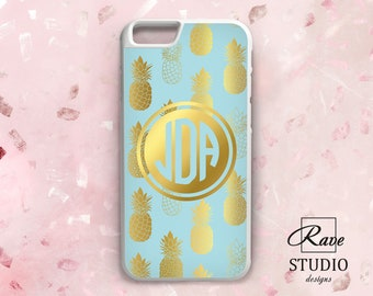 Fesselnd Pineapple IPhone Rubber IPhone 8 Case Gold Case IPhone 7 Plus IPhones SE  Case IPhone X Hard Case Monogram Case IPhone Cell Phone IPhone 5 6s
