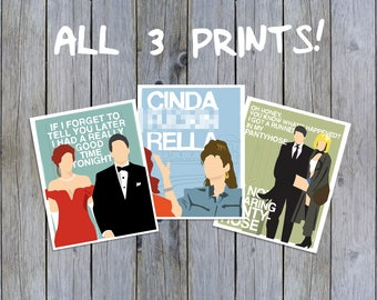 Pretty Woman Print Collection - 3-PACK