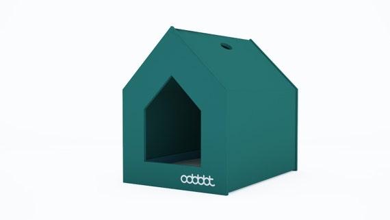 Cat Litter Box Cover - Pet House - Hideaway - Scandinavian Style Pet Furniture - Modern Litter Box Cabinet - Gift for a Cat Love  sc 1 st  Etsy & Cat Litter Box Cover Pet House Hideaway Scandinavian