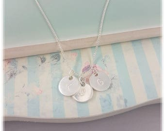Mini Disc Personalised Necklace