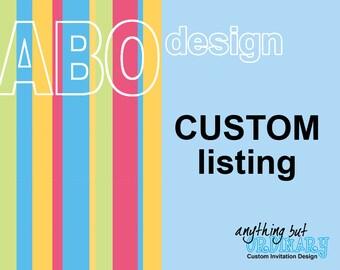Customized Printable Item