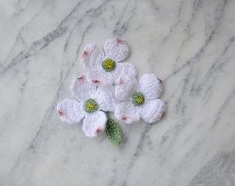 Crochet Flower Pattern - Dogwood Flower