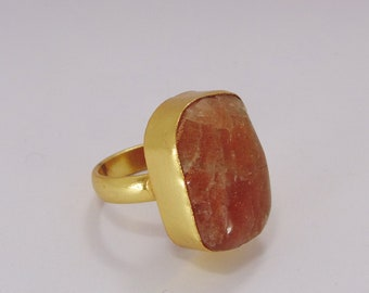 Natural stone ring Etsy