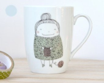 I love knitting Coffee / Tea  Mug