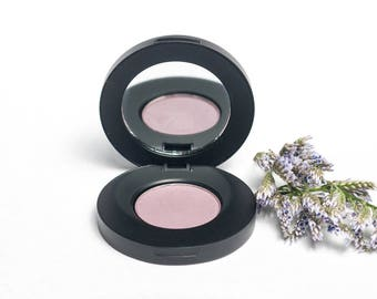 Darling Thistle Matte Pressed Mineral Eyeshadow - Light Purple Eye Shadow - Pastel Purple - Pretty - Soft - Cruelty Free - Vegan Friendly
