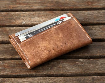 Birthday Gift for Men | Leather Wallet, Minimalist Wallet