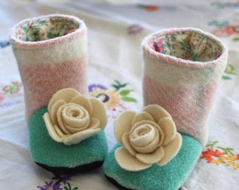 Flower Boots - Bundle of All Sizes (Baby, Child, Youth)
