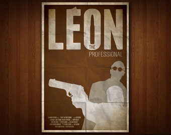 Leon: The Professional Poster (Multiple Sizes)