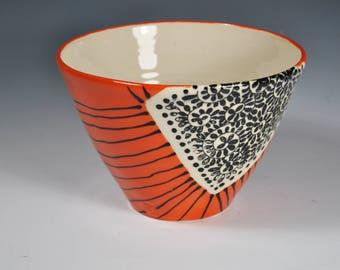 Handmade Ceramic Serving Bowl, Pottery Bowl, Vegatable Bowl, Fruit Bowl