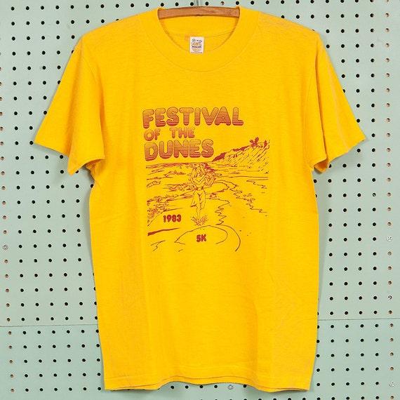 80s/90s Vintage Marathon Sports Champion T Shirt Size L Red Heather Running Race MUlS9ld