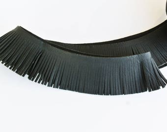 leather 20cm to 3.5 cm tassels