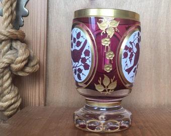 Antique Foot Mug Biedermeier