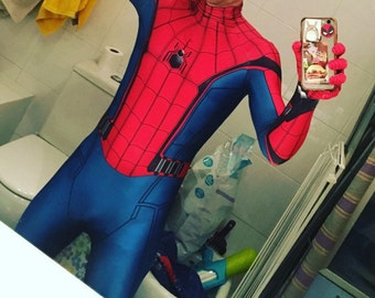 Spiderman Homecoming costume for Men Women And Kids men 3d costumes cosplay clothing