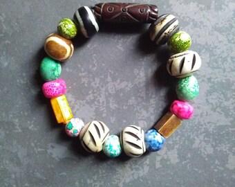 women ethnic beaded bracelet