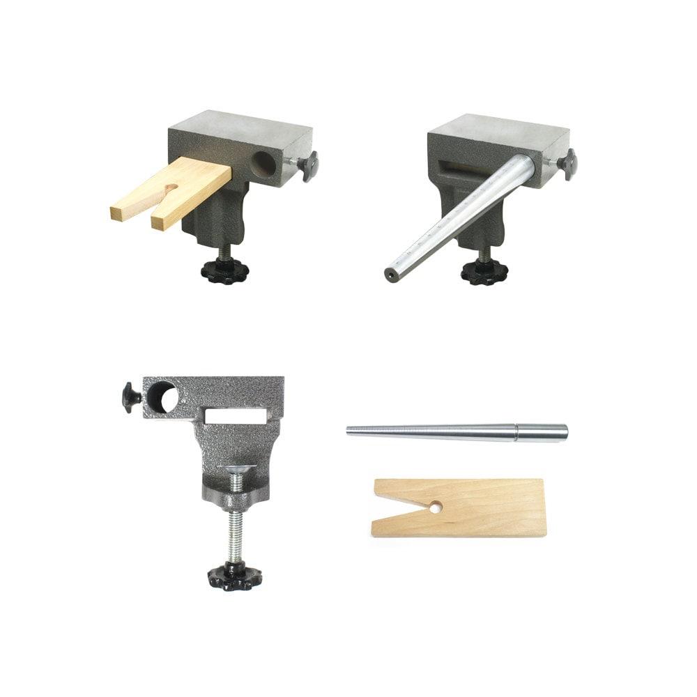 Bench Anvil Basic Combo Kit Ring Mandrels Anvil And V Slot