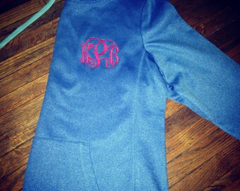 Limited Time Monogrammed Fitness Hoodie
