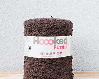 Hoooked Fuzzilli Brown, SALE