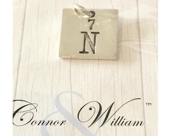 Periodic Table Nitrogen N7 Charm or pendant
