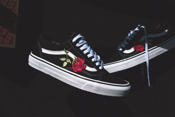 parches bordados vans