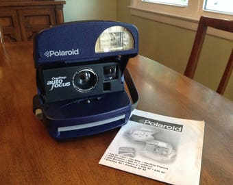 Clearance -Polaroid OneStep Auto Focus Instamatic Camera with Instructions