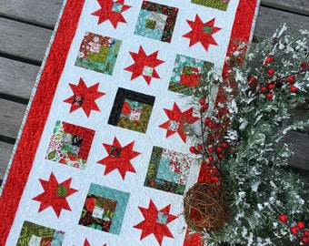 PAPER Pattern: Starry Way (Charm Pack Runner)