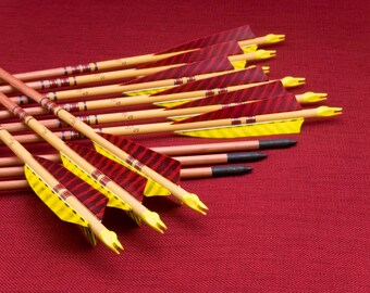 Traditional Wood Arrows