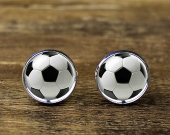 Soccer cufflinks, Football cufflinks, Football accessories