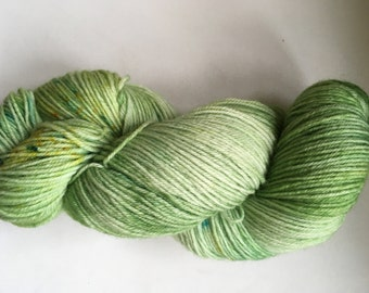"Seren sock  yarn in ""spring greens"" colourway"