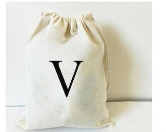 Initial bag, bridesmaid gift, groomsmen bag, initial, monogram bag, personalized bag, monogrammed bag, groomsmen gift, bridesmaid bag