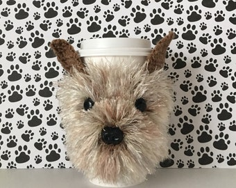 Cairn Terrier Gifts, Cairn Terrier Mug Cozy, Dog Breed Gifts, Dog Mom Gift, Fur Baby Mom, Dog Parents, Crazy Dog Lady, Dog Mug Cozies