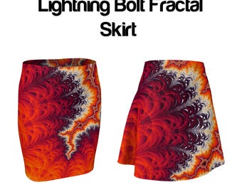 Lightning Bolt Fractal Skirt