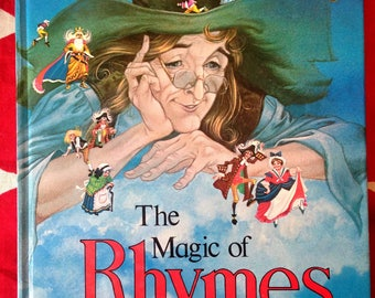 The Magic of Rhymes A Collection of Nursery Rhymes Eric Kincaid Vintage  Brimax