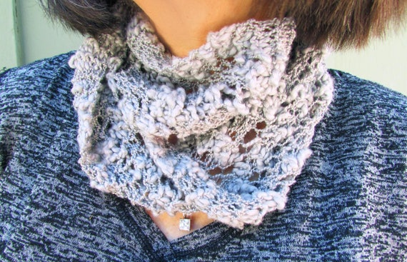 Scarf Knitting Pattern Scarf Knit Kit Easy Knitted Scarf For