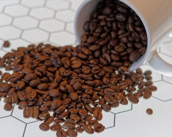8oz. of micro-roasted Colombia Coffee